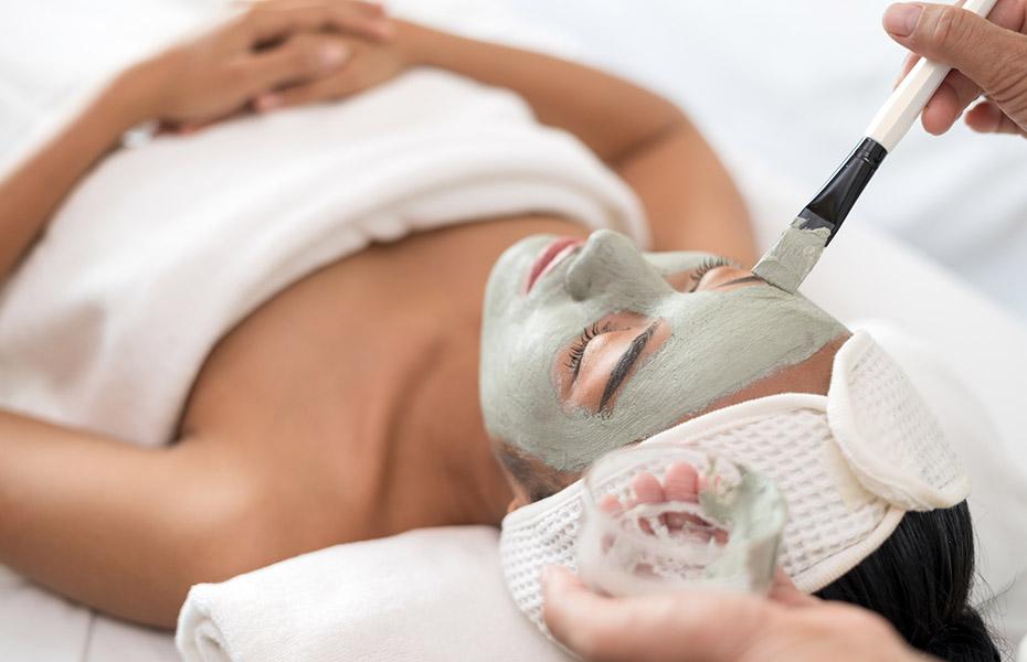 Step 2 - Applicazione maschera agli alginati
