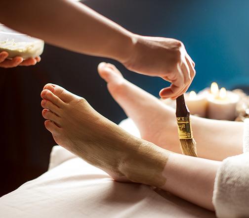 Happy feet - Fase del trattamento 1