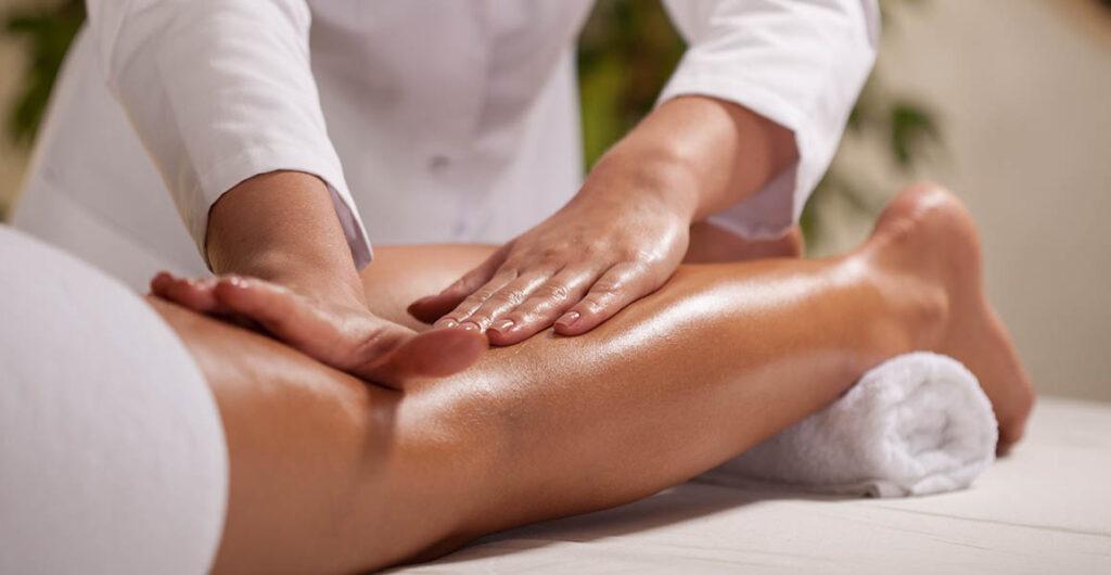 MG Draining & Relax Gambe treatment