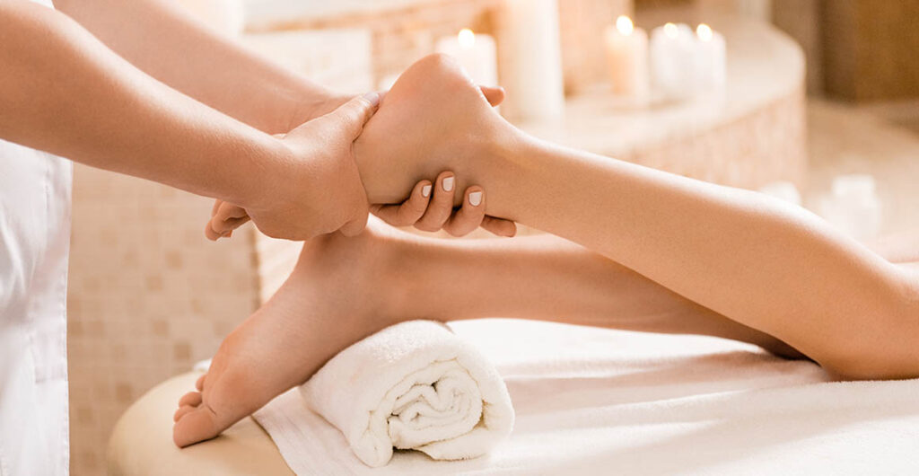 MG Foot Massage Reflexology treatment